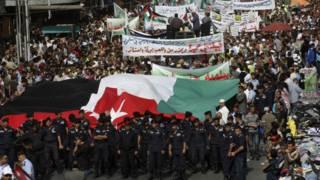 احتجاجات في الأردن