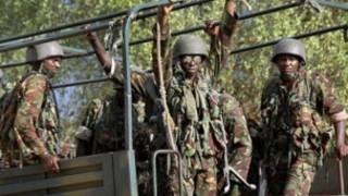Kenya troops in Somalia