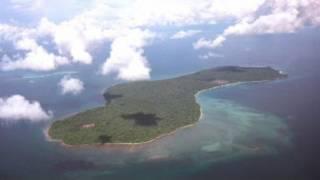 Một hòn đảo không người ở trên Biển Đông