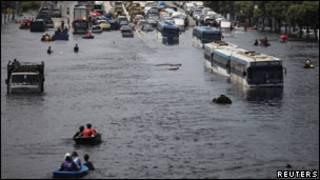 Lụt ở Bangkok, Thái Lan