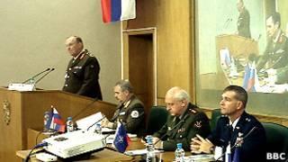 Выступление генерала Саймона Портера в Академии Генштаба