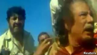 Video da captura de Khadafi