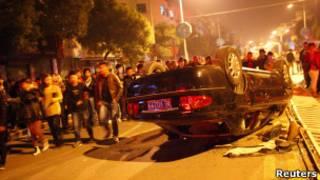 吳興織裏鎮抗稅示威