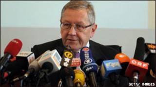 Ông Klaus Regling, giám đốc Quỹ Bình ổn Tài chính châu Âu