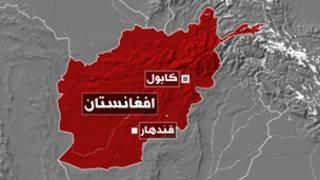 خريطة افغانستان