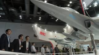 Hội chợ hàng không ở Thượng Hải