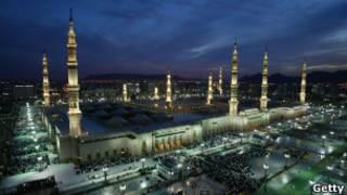 مسجد الرسول في المدينة