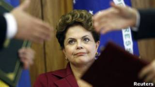 Presidente Dilma Rousseff. Reuters