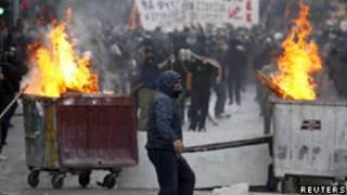 Manifestante grego (20 de outubro)