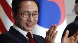 Tổng thống Hàn Quốc Lee Myung-bak