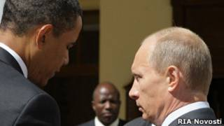 Путин ва Обама