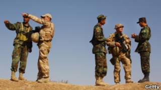 Афганские солдаты в провинции Герат
