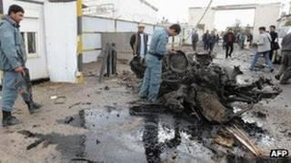 صحنه حمله روز پنجشنبه در هرات