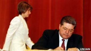 Павел Лазаренко и Юлия Тимошенко (фото из архива)