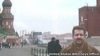 Виктор Бут на Красной площади