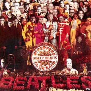 Versão de 'Sgt. Pepper's'. Foto: PA