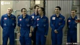 اعضای گروه ماموریت آزمایشی