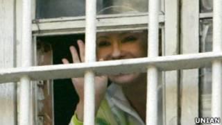 Юлія Тимошенко у камері СІЗО