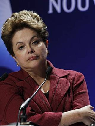 Dilma Rousseff/AFP
