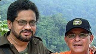 Iván Márquez (izquierda), foto cortesía El Tiempo.
