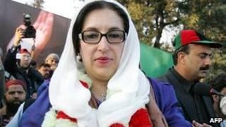 Bà Benazir Bhutto, cựu Thủ tướng Pakistan