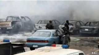 Mabomu yaliyoripuliwa na Boko Haram