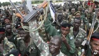الجيش في ولاية النيل الازرق