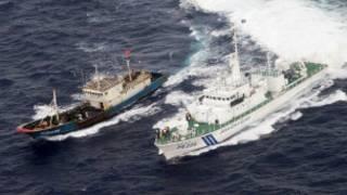 Tàu cá Trung Quốc bị tàu tuần duyên Nhật Bản truy đuổi hồi tháng 11 năm ngoái