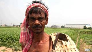 سنگور کے کسان