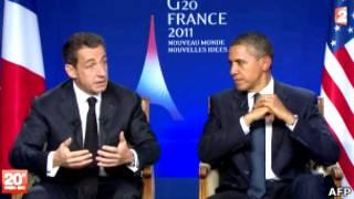 Николя Саркози и Барак Обама