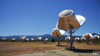 seti telescope alien