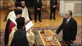 希臘新總理帕帕季莫斯