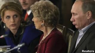 Владимир Путин на встрече с участниками Валдайского клуба