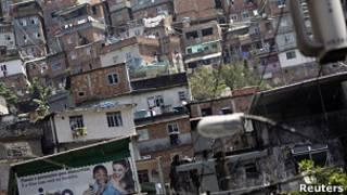 Favela no Rio. Foto: Reuters