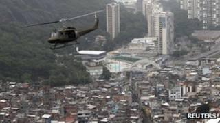 عملیات پلیس در برزیل