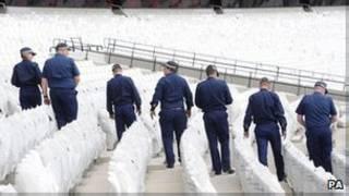 Policiais britânicos / PA
