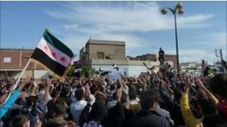 Zanga- Zanga a Kasar Syria