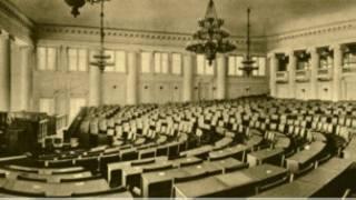 Зал заседаний дореволюционной Госдумы в Таврическом дворце