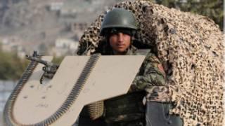 سرباز افغان در کابل