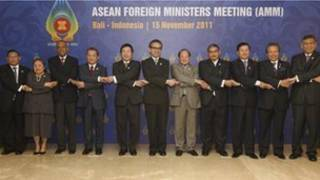 ASEAN foreign ministers in Bali