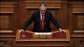 Thủ tướng Hy Lạp Papademos