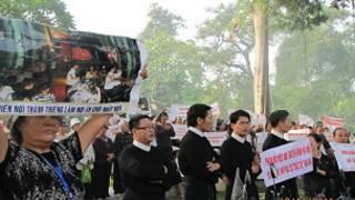 Biểu tình của Giáo xứ Thái Hà