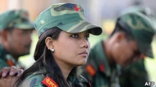 اسکان شورشیان سابق مائوئیست در نپال