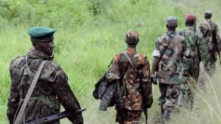 Des combattants rebelles en RDC