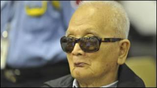 Noun Chea, wari umuyobozi w'umutwe wa Khmer Rouge