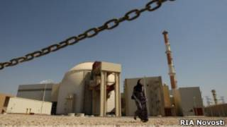 Первый иранский ядерный реактор в провинции Бушер