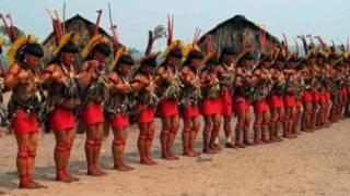 Ritual de índios enawene-nawe (Foto: acervo Iphan)