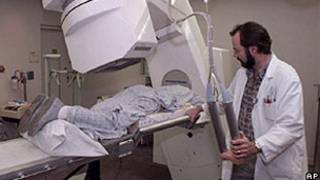 Tratamento de câncer (arquivo/AP)
