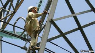 Nhân viên điện lực Việt Nam
