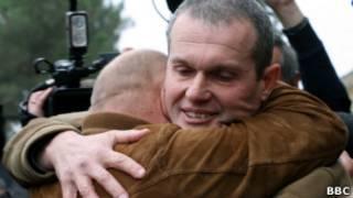 Российский пилот Владимир Садовничий